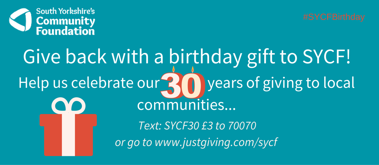 Help us celebrate our 30 years of giving to local communities... (1)